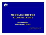 TECHNOLOGY RESPONSE TO CLIMATE CHANGE