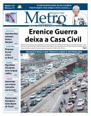 erenice Guerra deixa a Casa Civil - Metro Magazine