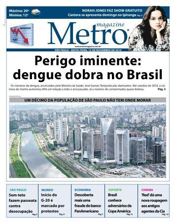 perigo iminente: dengue dobra no brasil - Metro Magazine