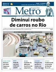 rio de janeiro - Metro Magazine