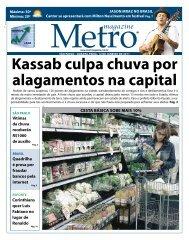 Kassab culpa chuva por alagamentos na capital - Metro Magazine