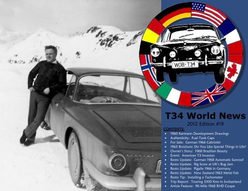 T34 World News - The Hedges Family Web Site