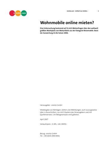 Wohnmobile online mieten? - Img-erento.com