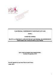 Cahier des charges Plan Régional d'Hébergement Etape 2 vu DAFRH
