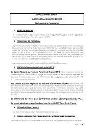 Règlement de la Consultation - Marché Impression Bougez - CRT ...