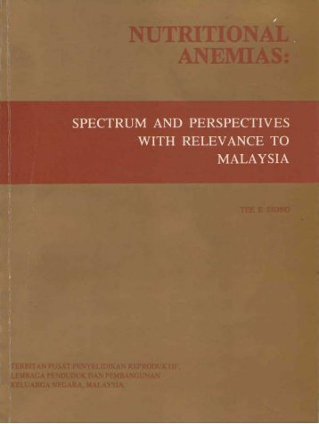Nutritional Anaemias: Spectrum and Perspectives with ... - Home