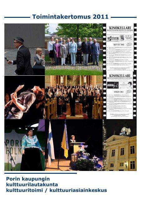 Toimintakertomus 2011 - Pori