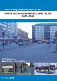 Porin joukkoliikennesuunnitelma 2005-2009