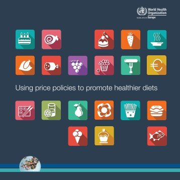 Using price policies to promote healthier diets