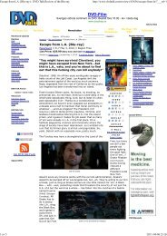 DVD Talk - The Escape From New York & LA Page - A Tribute to ...
