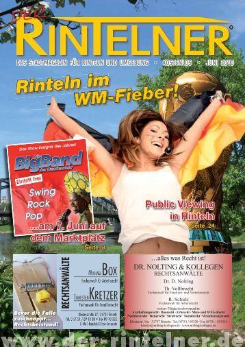 Rinteln im WM-Fieber! - Der Rintelner