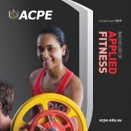Bachelor of Applied Fitness - AIAS
