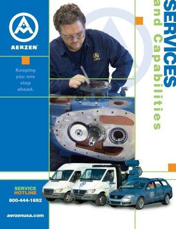 Service Programs - Blowers, Compressors, & Spare Parts - Aerzen ...