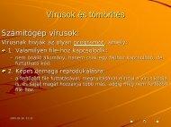 Vírusok és tömörítés - SuMMeR