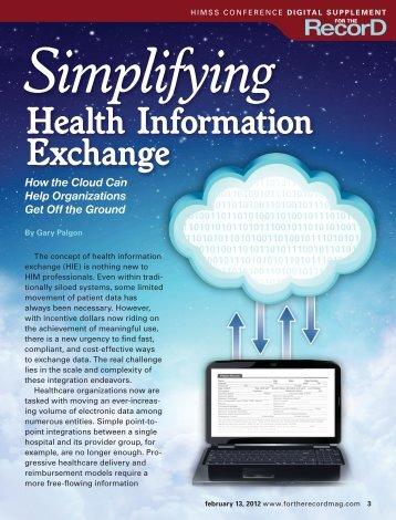 Health Information Exchange - Liaison Technologies