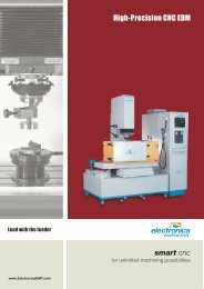 Smart CNC - Electronica Machine Tools