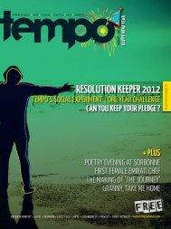 RESOLUTION KEEPER 2012 - Tempoplanet
