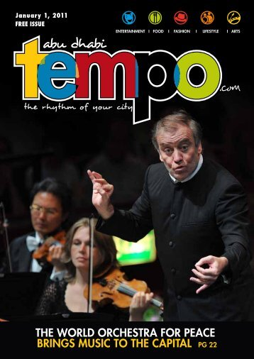 THE wORLD ORcHESTRA FOR pEAcE BRINGS ... - Tempoplanet