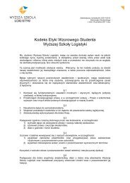 Kodeks etyki studenta WSL