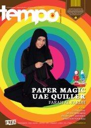 PAPER MAGIC UAE QUILLER - Tempoplanet