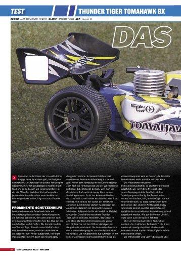 RACER-Testbericht TT Tomahawk BX