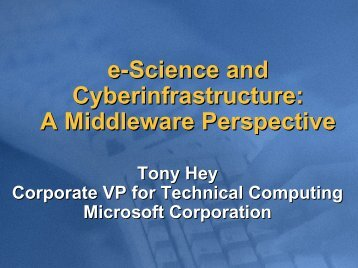 A Middleware Perspective - WWW2006