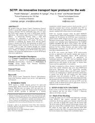 SCTP: An innovative transport layer protocol for the web - WWW2006