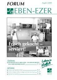 Frisch gekocht – serviert! - Stiftung Eben-Ezer