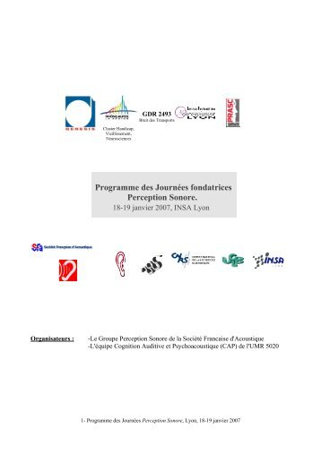 Programme et inscription (pdf) - SFA