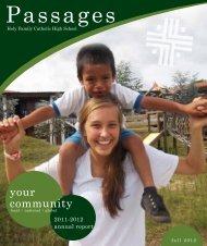your community - Holy Family Catholic High School