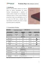 Prodema Baq+ (Revestimento exterior) 1. Identificação 2 ...