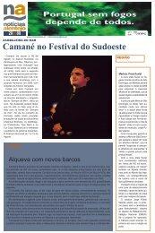 Camané no Festival do Sudoeste
