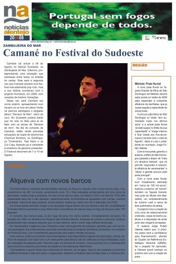 Camané no Festival do Sudoeste