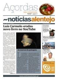 Luís Carmelo «roda» novo livro no YouTube