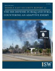 ISIS Defense in Iraq and Syria -- Standard