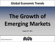 Shifting Dynamics of the Global Economic Landscape - Mercator XXI