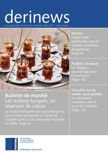 Bulletin de march