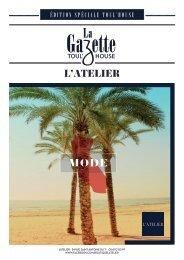 L'ATELIER - BOUTIQUE TOULOUSE: La Gazette Toul'house