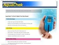 AquaChek® TruTest® Digital Test Strip Reader ... - Imperial Pools