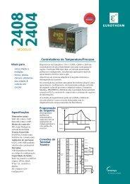 Controlador de Temperatura Série 2404 / 2408 - Soliton