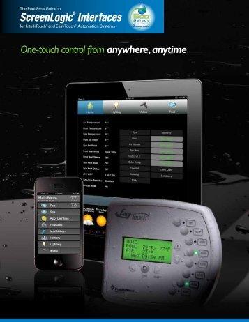 ScreenLogic® Interfaces - Florida Pool Service
