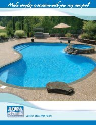 Make everyday a vacation with your very own pool - Bel-Aqua Pool ...