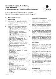 EPV 2000 PLUS Büro - Fassung 06.03