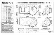 liner keyhole 18x36 rev - 8ft st - Imperial Pools