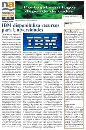 IBM disponibiliza recursos para Universidades