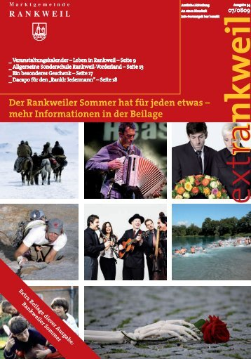 Der Rankweiler Sommer hat f