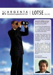 Lotse vom März 2009 - argenta.info