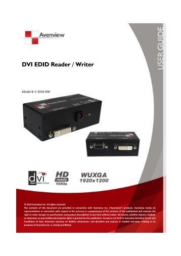 EDID Reader/Writer