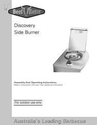 Discovery Side Burner - GEAppliances.ca