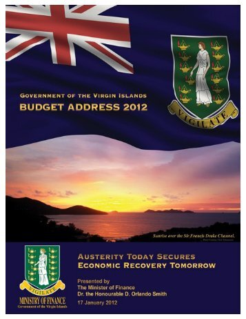 2012 Budget Address - Government of the Virgin Islands - Ministry of ...